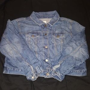 Old navy jean jacket size XXL